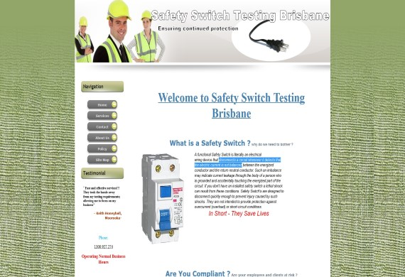 safety switch testing